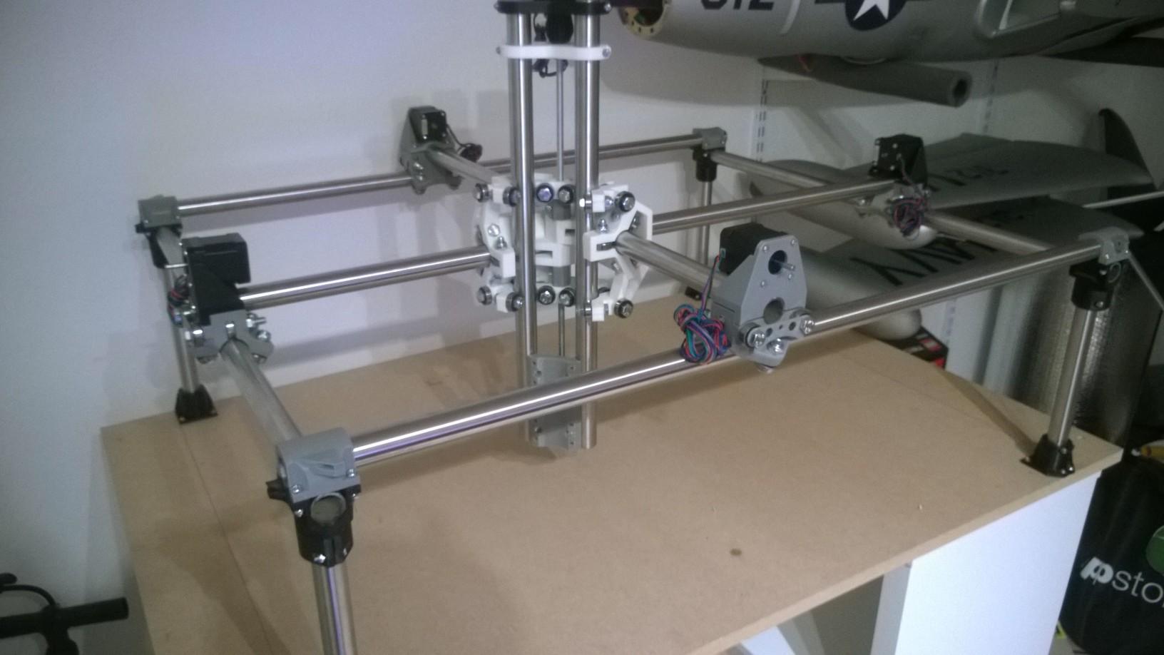 JetDanmark: Forums / Diverse / 3D Printet CNC Fræser
